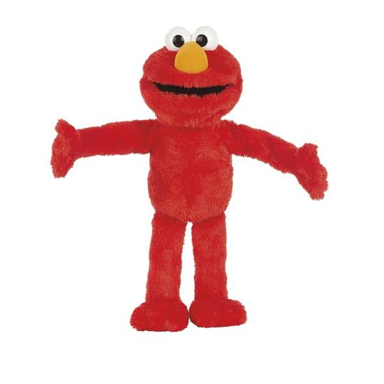 Pluche Elmo knuffeldier 55 cm