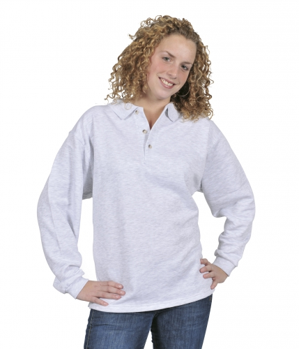 Polo sweater grote maten open boord