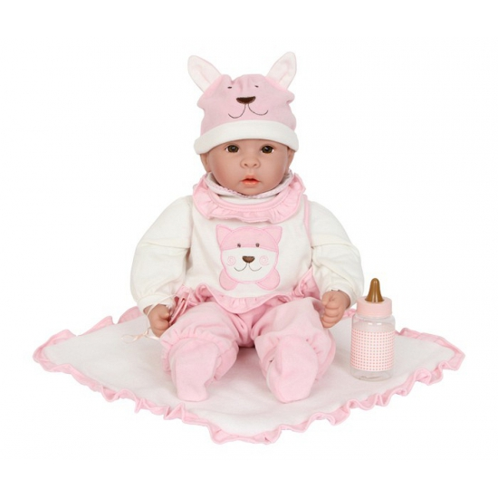 Poppen baby Emilia met accessoires