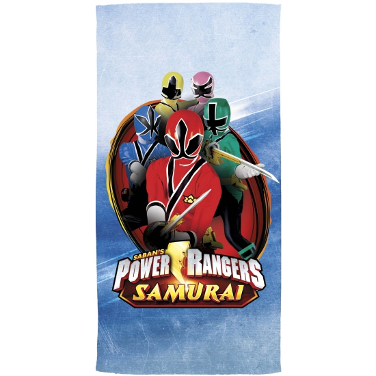 Power Rangers Samurai handdoek 70 x 140 cm