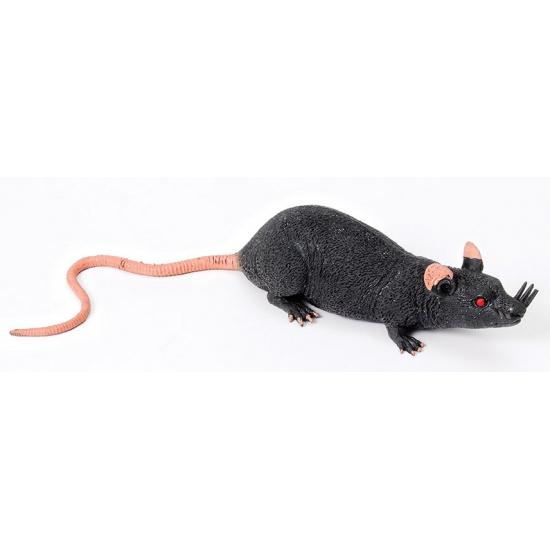 Ratten decoratie van rubber 15 cm