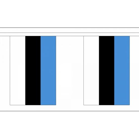 Rechthoekige estland vlaggenlijn