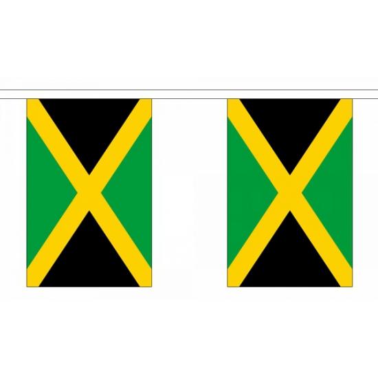 Rechthoekige Jamaica vlaggenlijn
