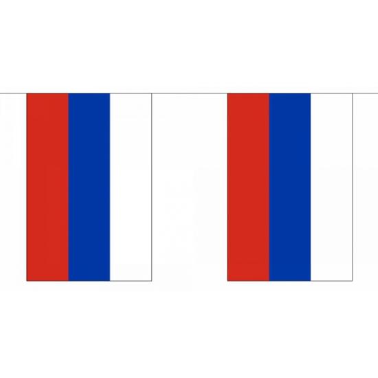 Rechthoekige Rusland vlaggenlijn