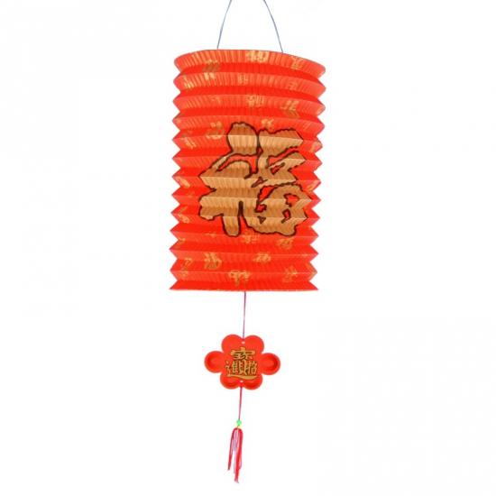 Rode gelukslampionnen 20 cm