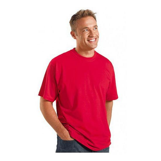 Rode grote maten heren t shirts maat 4XL