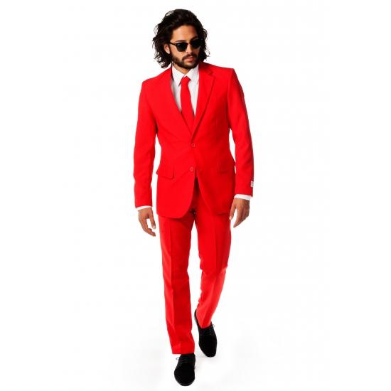 Rode pakken voor heren