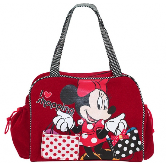 Rode shopping tas Minnie Mouse
