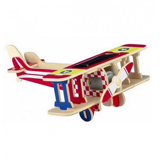 Rode solar vliegtuig bouwpakket
