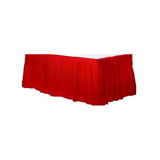 Rode tafel randen