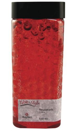Rode water pearls in doosje