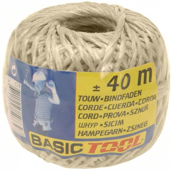 Rolletje touw 40 meter