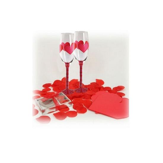 Romantische diner versiering