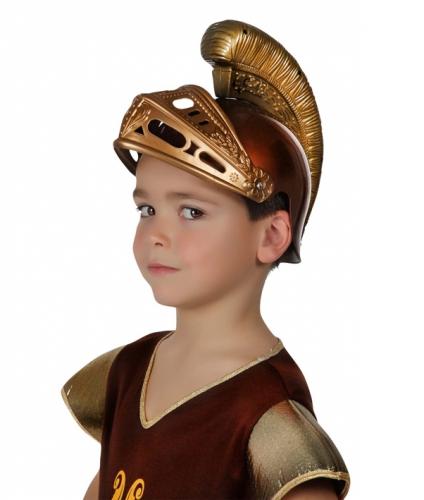 Romeinse kinder helm van plastic