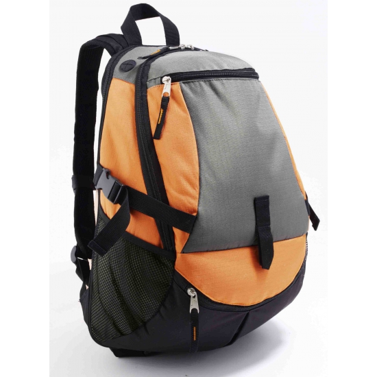 Rondreis backpack oranje