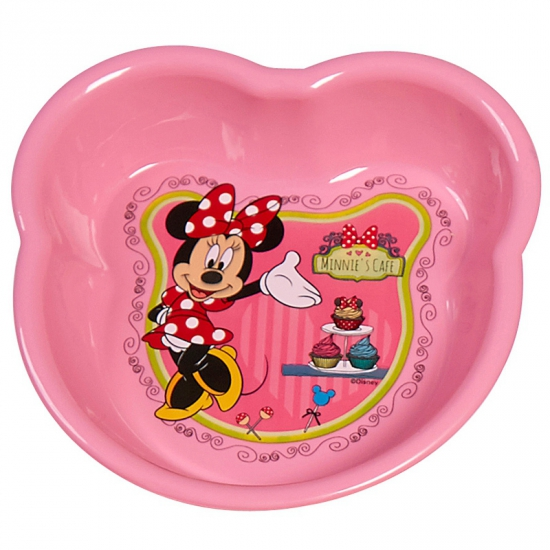 Roze Minnie Mouse schaaltjes van plastic 16 cm