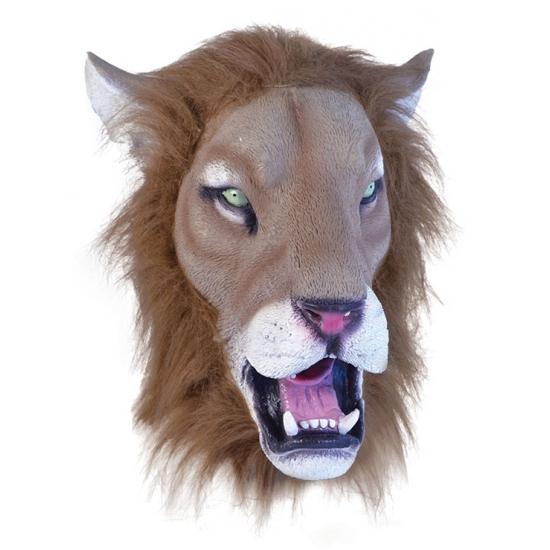 Rubber leeuwen masker