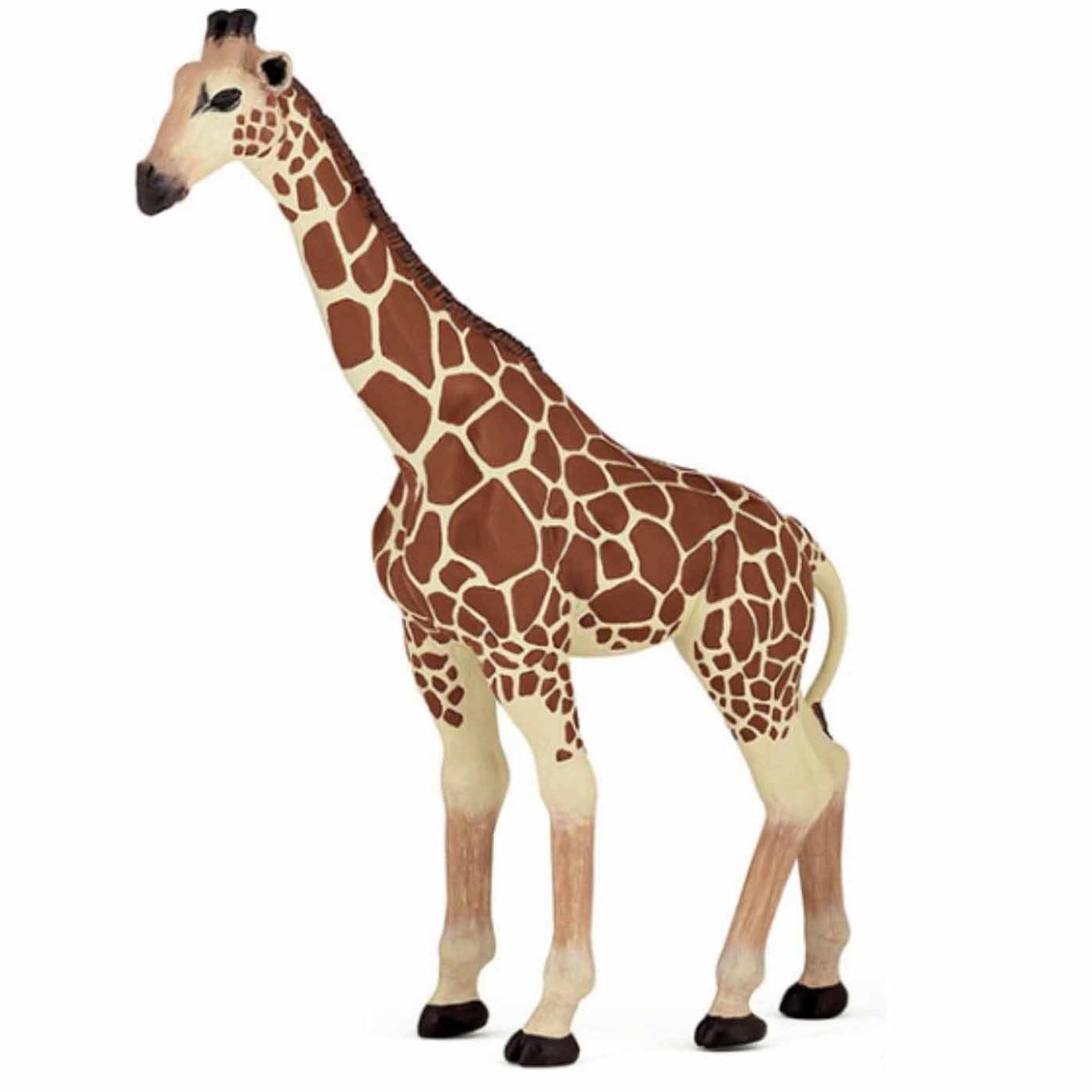 Safarie dieren speelgoed giraffe