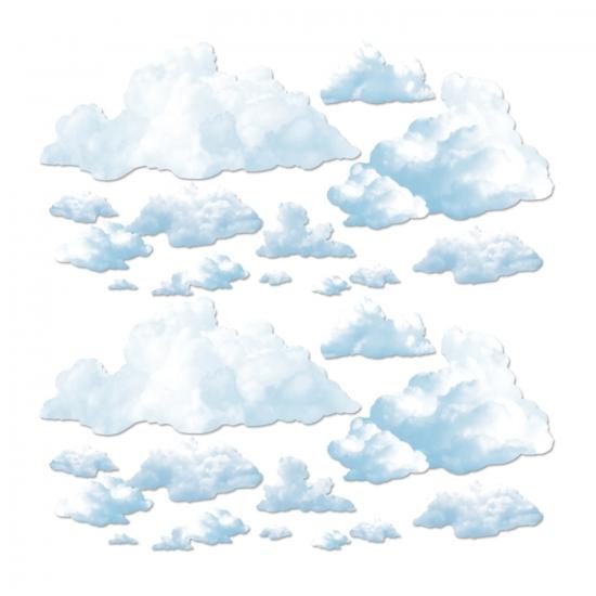 Scenesetter wolken 24 stuks
