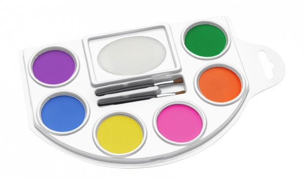 Schmink set in felle kleuren