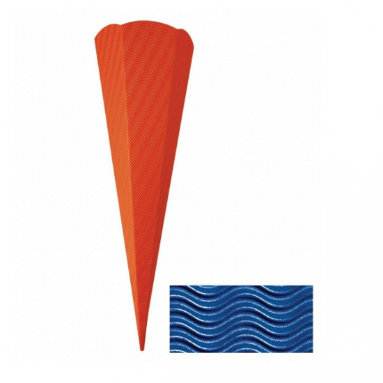 Schoolzak donkerblauw 68 cm