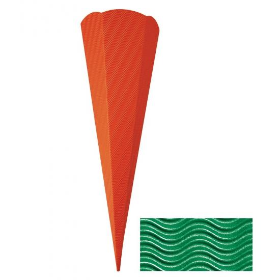 Schoolzak golfkarton groen 68 cm