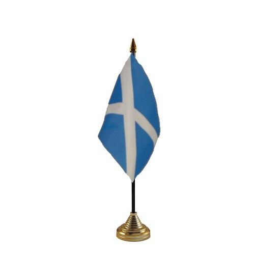 Schotland vlaggetje voor op tafel