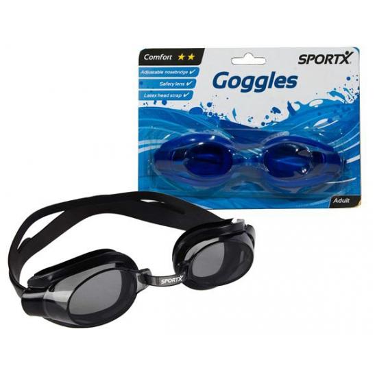Schuimparty brillen blauw