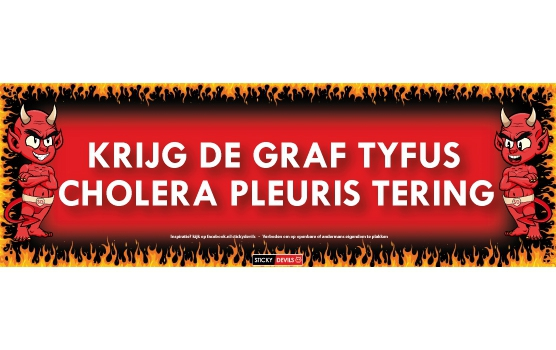 SD sticker Graf Tyfus