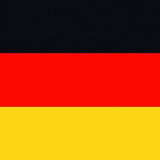 Servetten met de Duitse vlag 20 stuks