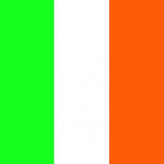 Servetten met de Ierse vlag 20 stuks