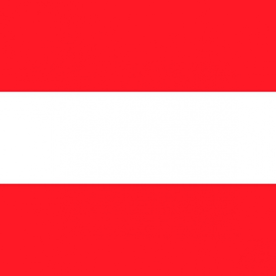 Servetten Oostenrijk vlag 20 stuks