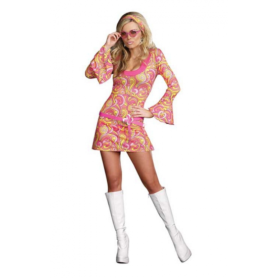 Sexy retro kostuum voor dames