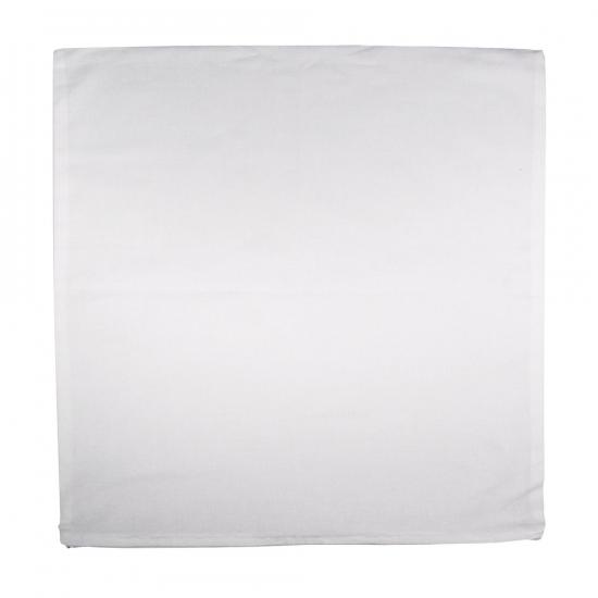 Sierkussen hoes wit 50 x 50 cm