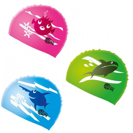 Siliconen badmuts voor kinderen