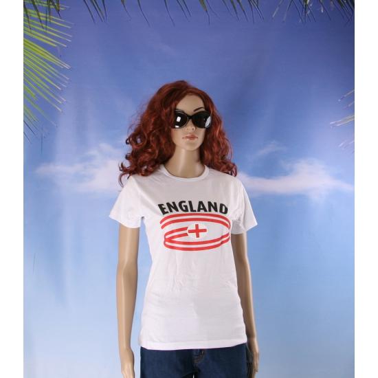T shirts met England opdruk voor dames