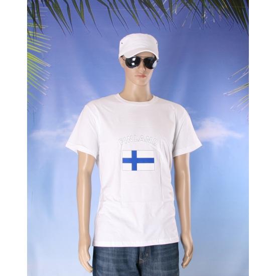 T shirts met Finse vlag