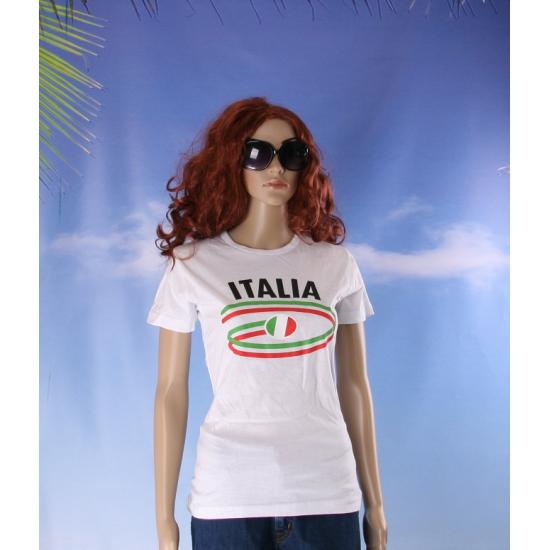 T shirts met Italia opdruk voor dames