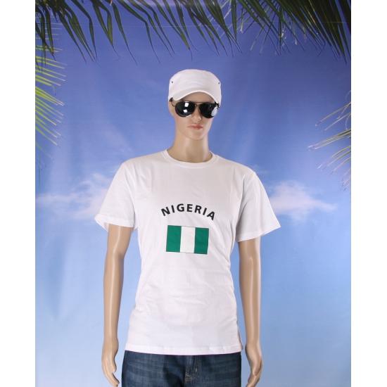 T shirts met Nigeriaanse vlag