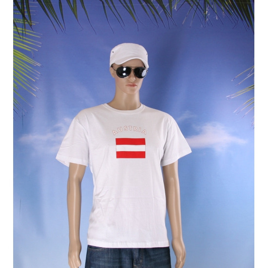 T shirts met Oostenrijkse vlag