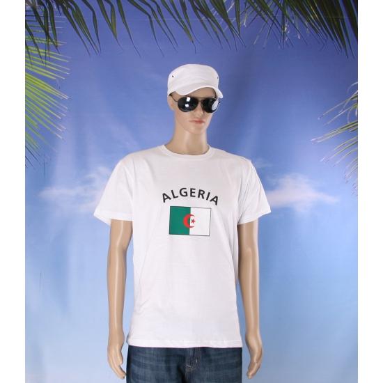 T shirts van vlag Algeria