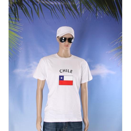 T shirts van vlag Chili