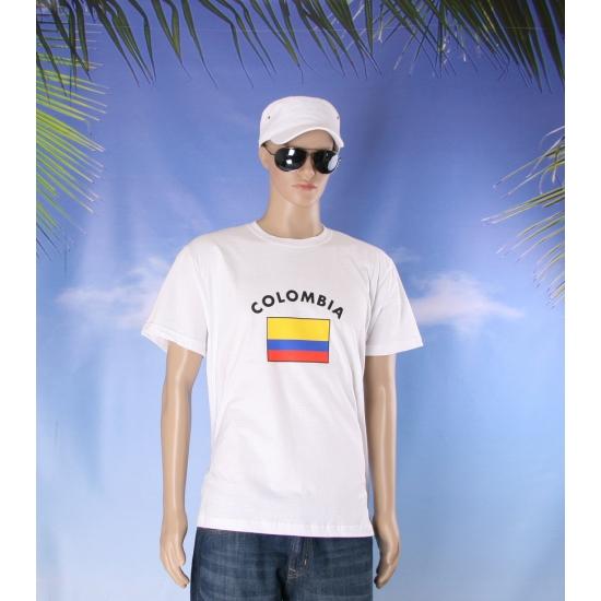 T shirts van vlag Colombia