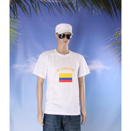 T shirts van vlag Ecuador