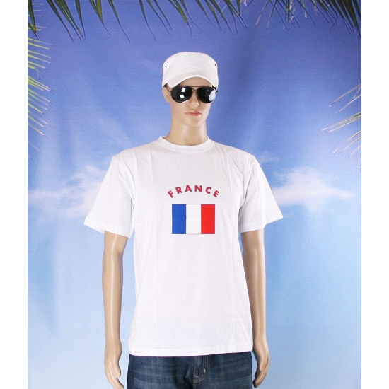 T shirts van vlag Frankrijk