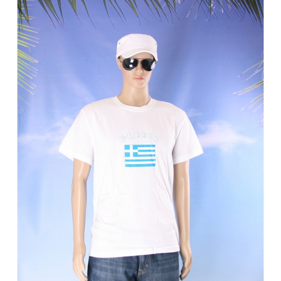 T shirts van vlag Griekenland