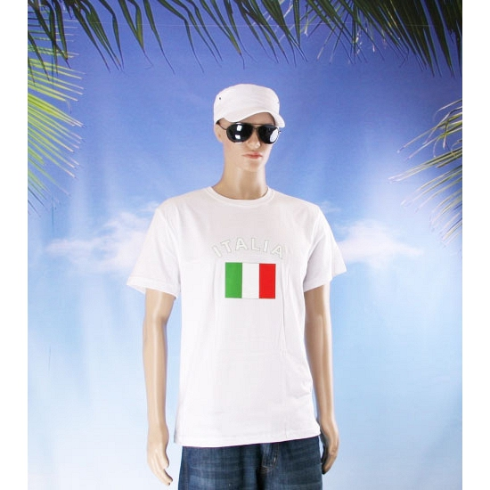 T shirts van vlag Italie