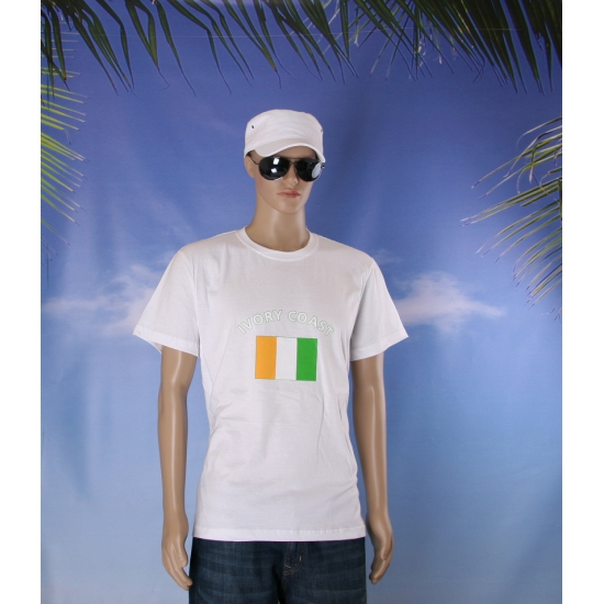 T shirts van vlag Ivoorkust