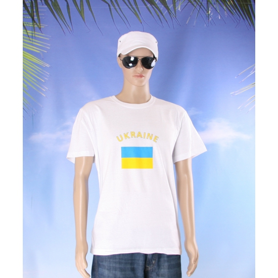 T shirts van vlag Oekraine