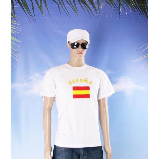 T shirts van vlag Spanje